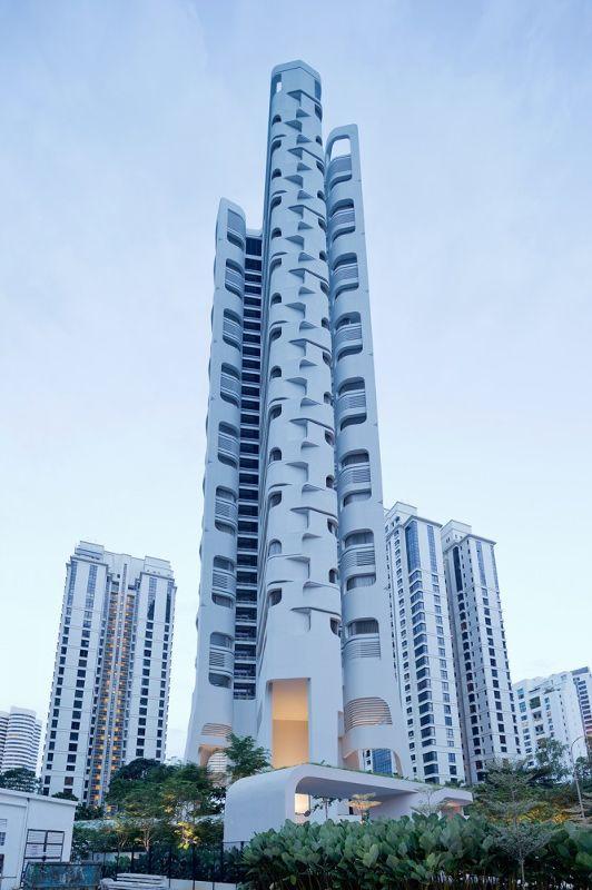 新加坡,Ardmore公寓大楼  UNStudio (11)