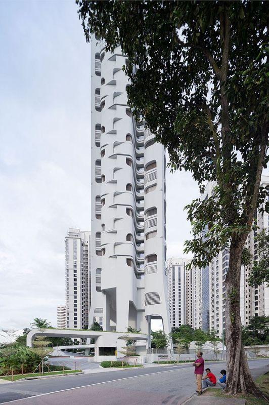 新加坡,Ardmore公寓大楼  UNStudio (19)