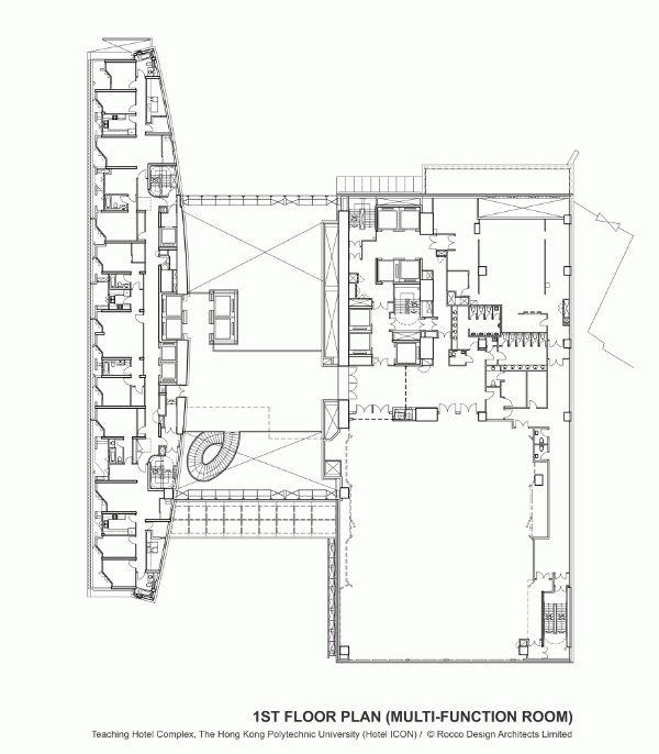 中国 香港 唯港荟酒店  Rocco Design Architects