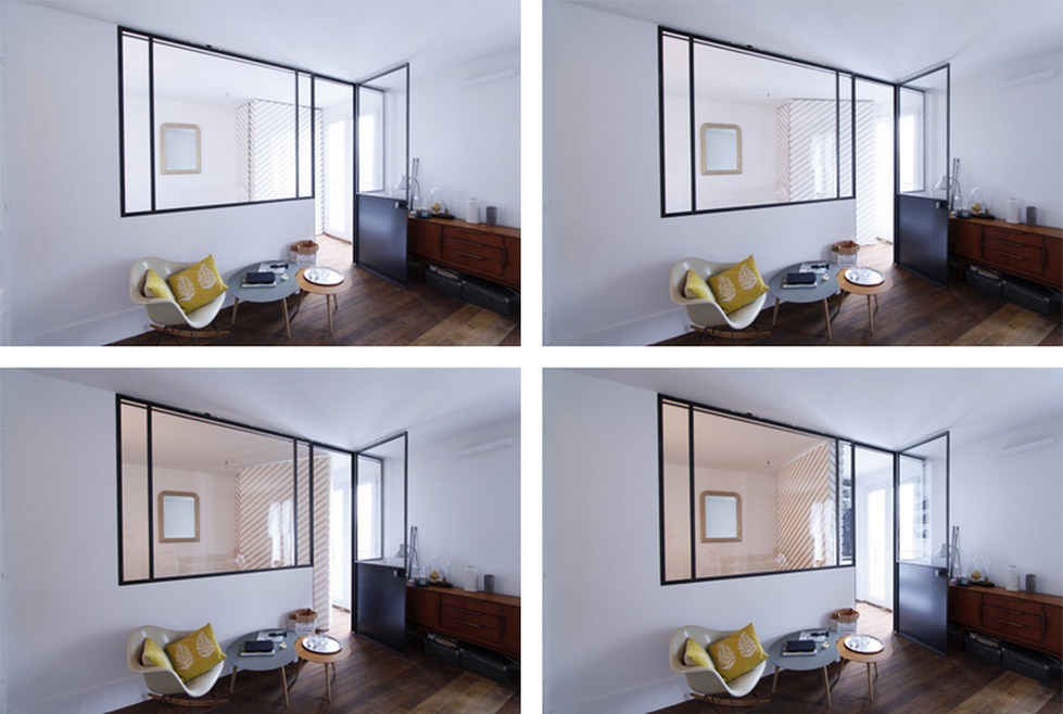 """超小公寓里面的""""步入式""""衣柜 (2)"""