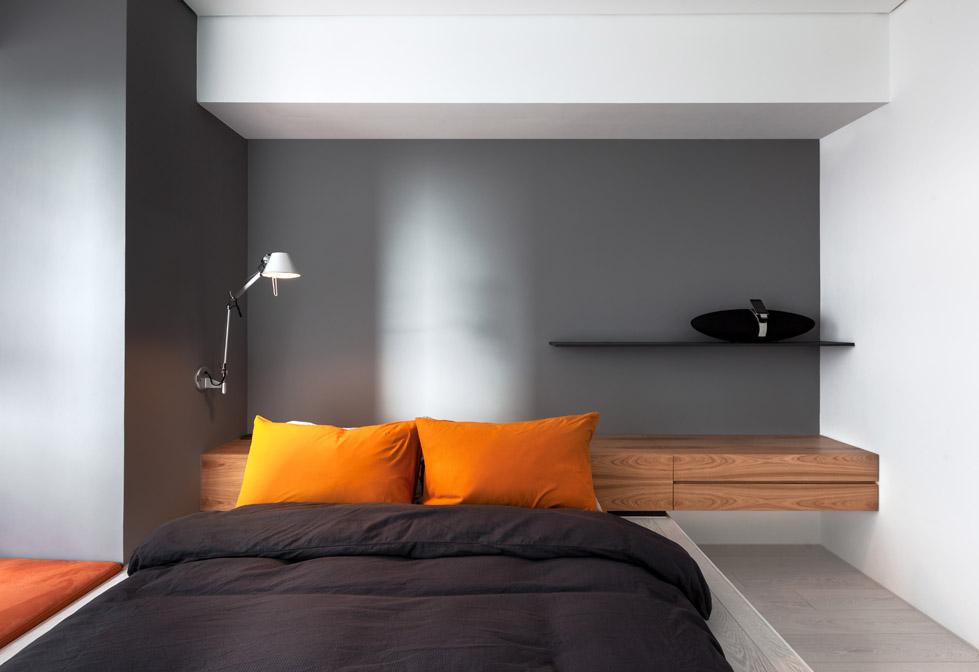 白色的小公寓The Little White Apartment  Z-AXIS DESIGN (2)