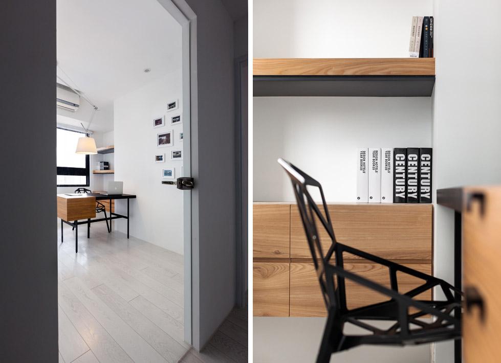 白色的小公寓The Little White Apartment  Z-AXIS DESIGN (10)