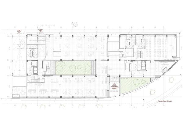 西班牙,阿拉瓦维多利亚,某办公楼  LH14 Arquitectos (3)
